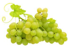 green grapes from vine, seed oil helps faces look youthful