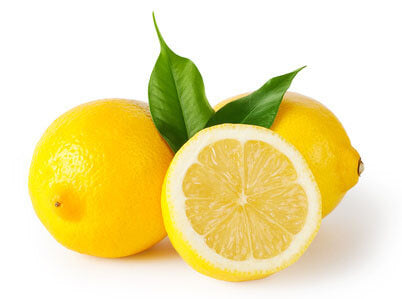 Lemon Helps Minimize Large Pores