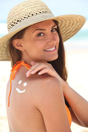 summertime sunscreen protection