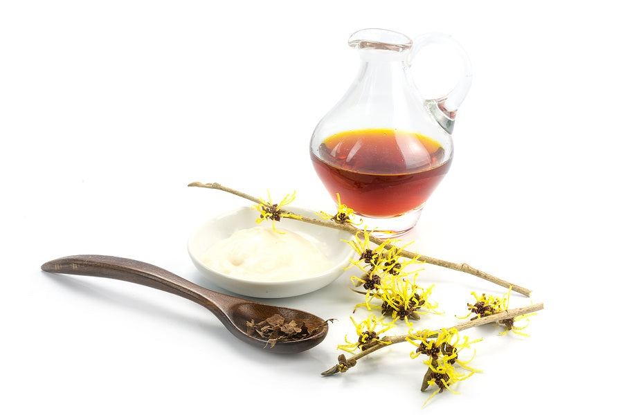 Witch hazel in skincare products