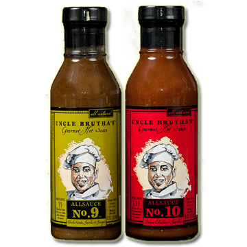 ALLSAUCE™ - 2 pack (12oz.) Uncle Brutha's™ Award Winning Gourmet Hot Sauce