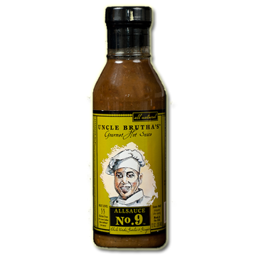 ALLSAUCE™ No. 9 Chile Verde Garlic and Ginger (12oz.)