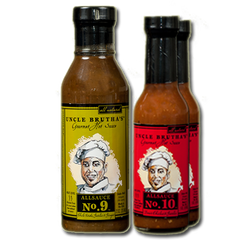Uncle Brutha's™ Award Winning Gourmet Hot Sauce ALLSAUCE™ - 3 pack (Mixed) B