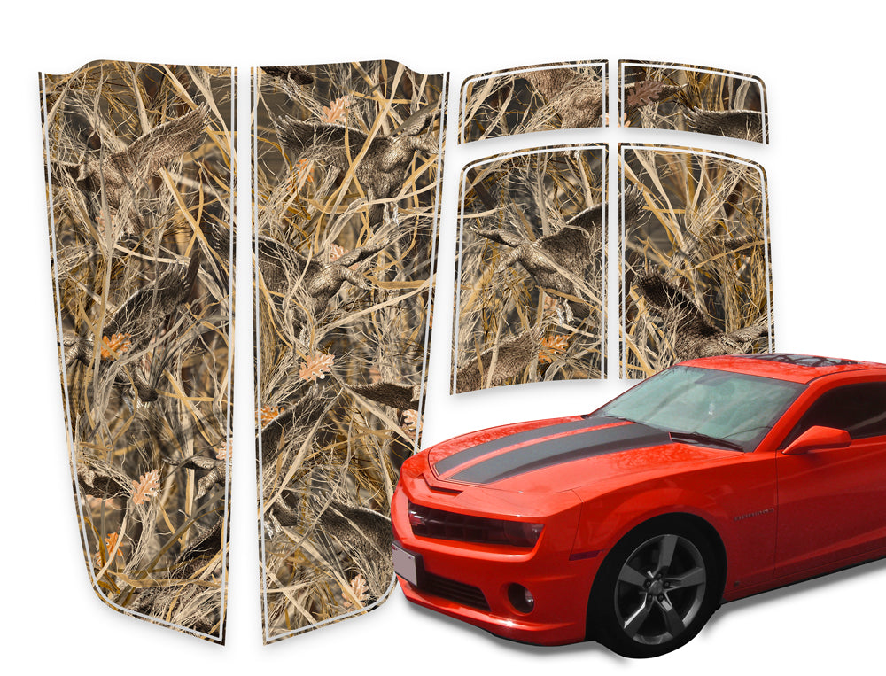 Camaro Racing Stripes Tallgrass Duck Die-Cut 2010-2015