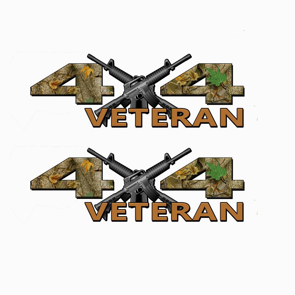 Veteran 4X4 Forrest Decals