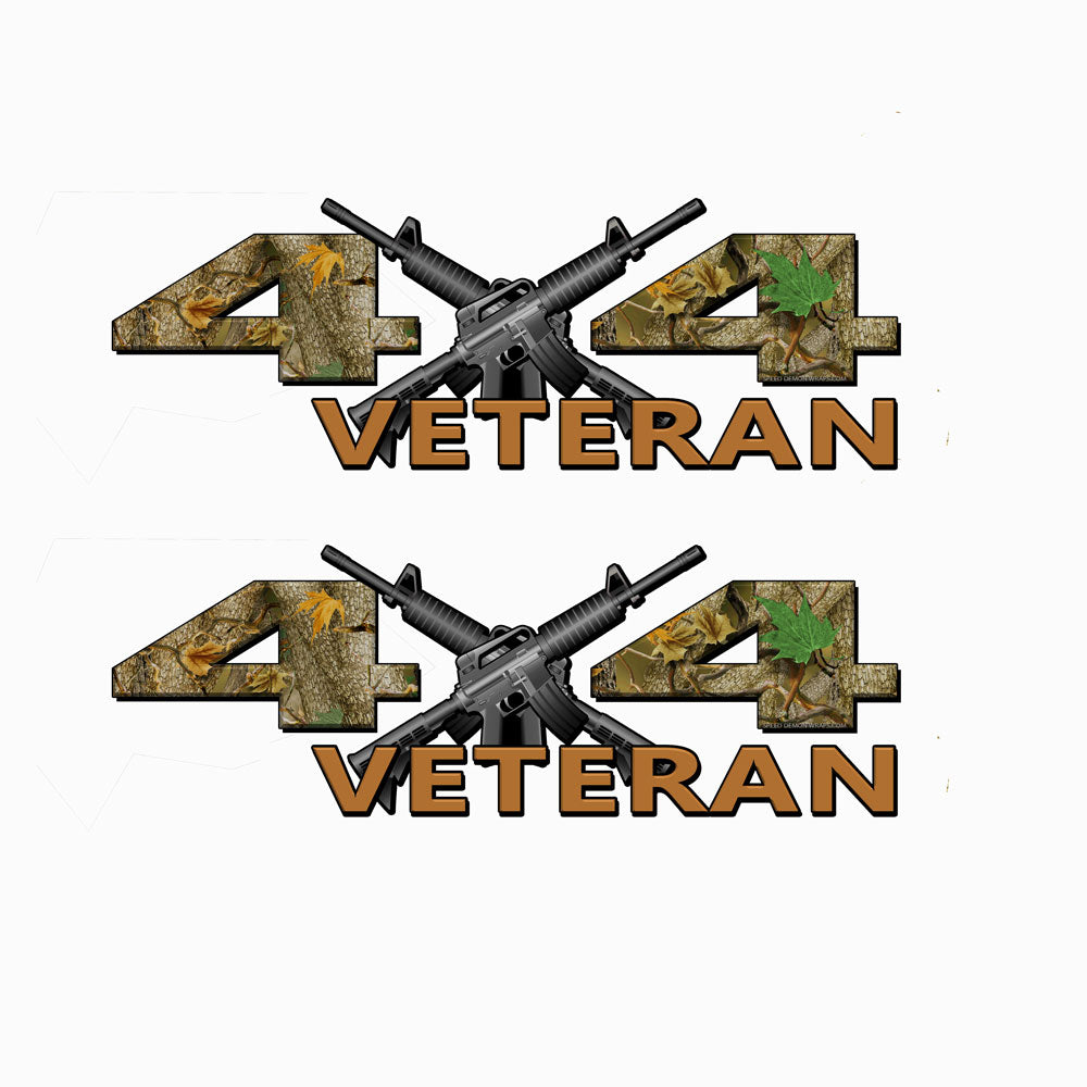 Veteran 4X4 Oak Camo Decals