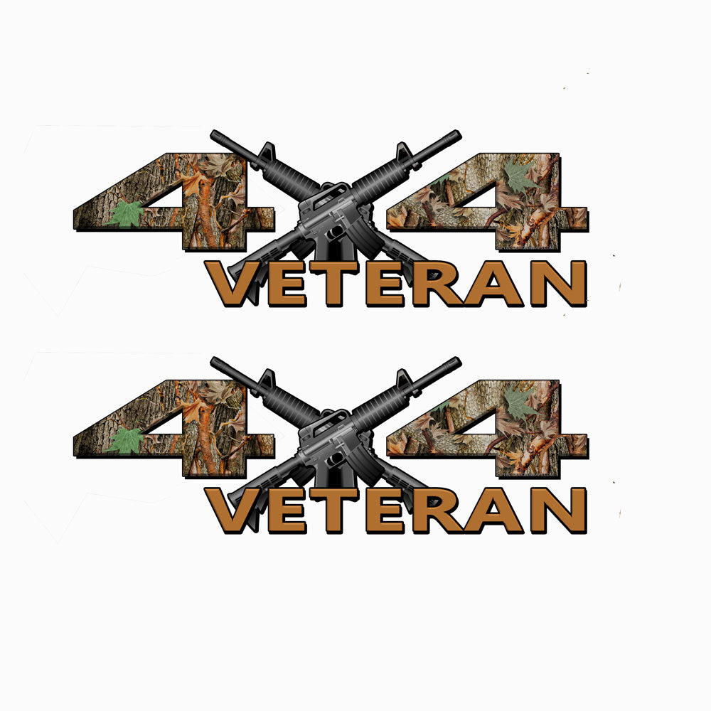Veteran 4X4 Camo Decals
