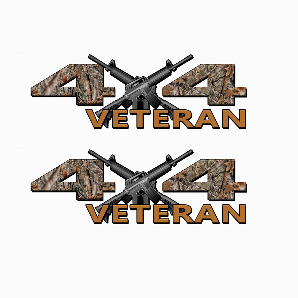 Veteran 4X4 Skull Camo Decals