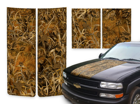 Chevy Tahoe Racing Stripes Grassland - Brown Pinstripe 2000-2006