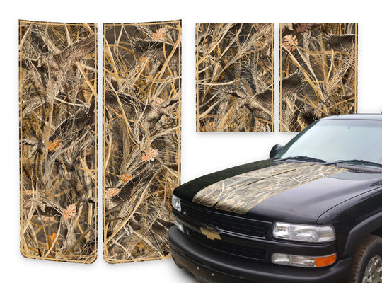 Chevy Tahoe Racing Stripes Tallgrass Duck - Tan Pinstripe 2000-2006
