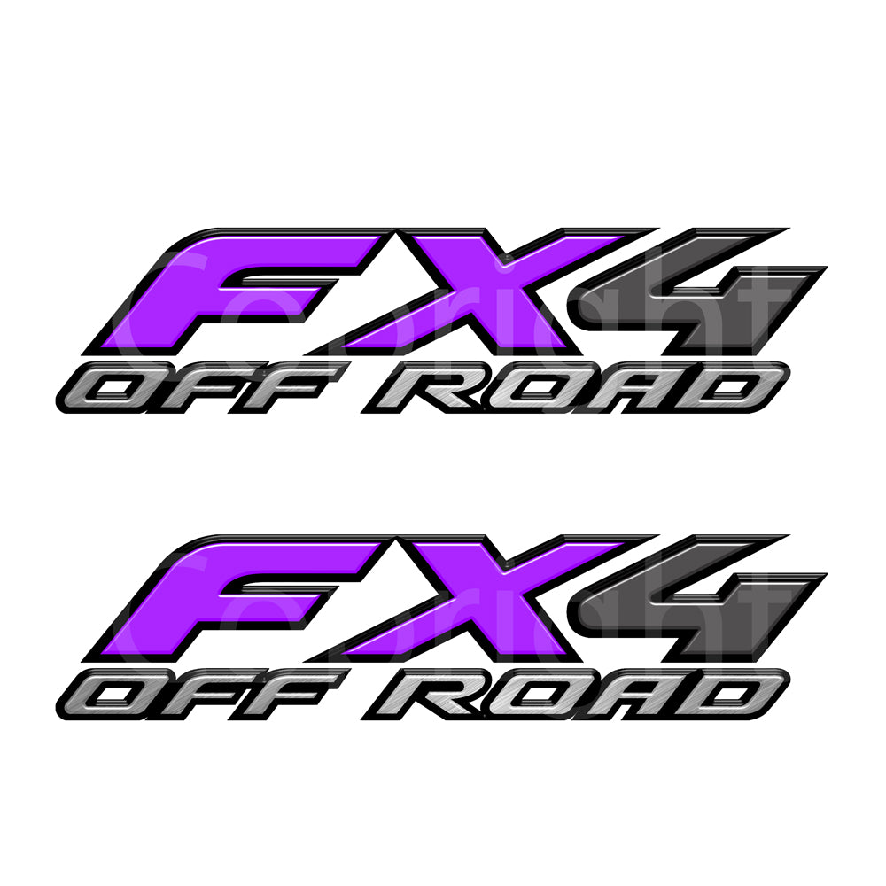 FX4 Decal Purple