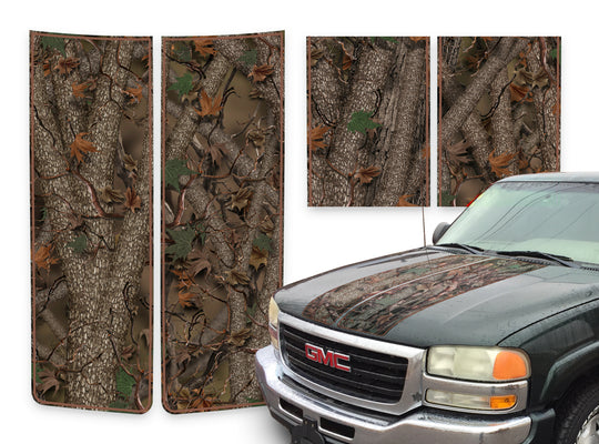 GMC Sierra Racing Stripes Forest - Brown Pinstripe 2000-2006