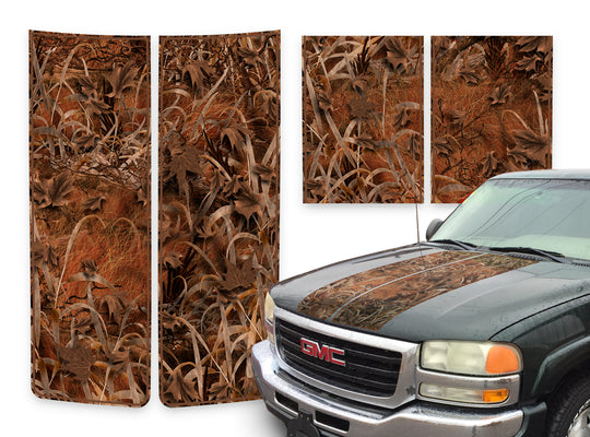 GMC Sierra Racing Stripes Grassland - Brown Pinstripe 2000-2006