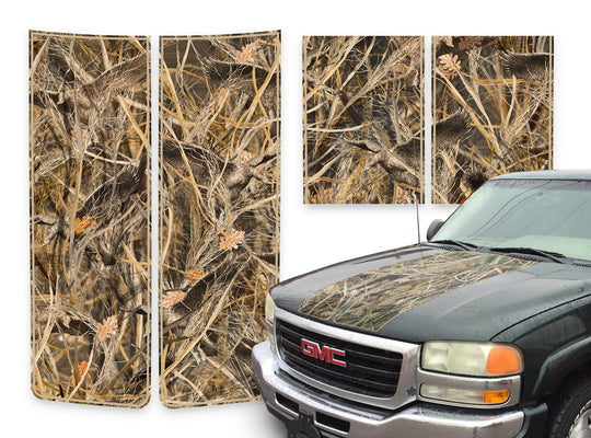 GMC Sierra Racing Stripes Tallgrass Duck - Tan Pinstripe 2000-2006