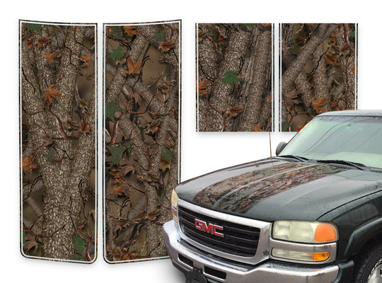 GMC Yukon Racing Stripes Forest - 2000-2006