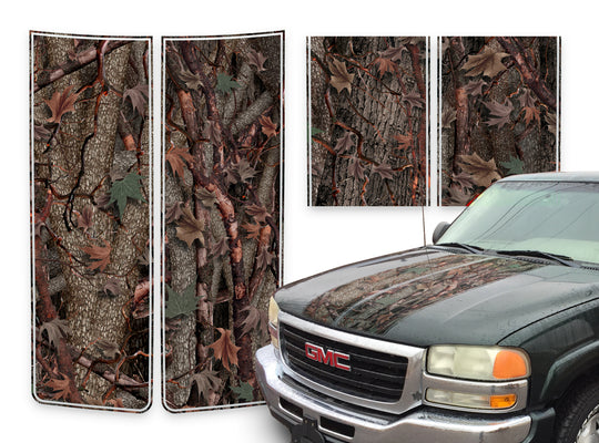 GMC Yukon Racing Stripes Oak Ambush - 2000-2006