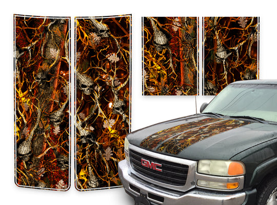 GMC Yukon Racing Stripes Skulls Blaze - 2000-2006