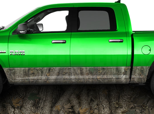 Forest Rocker Panel Wrap Graphic Decal Wrap Truck Kit