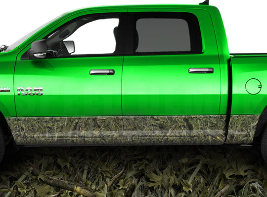 Marshland Rocker Panel Wrap Graphic Decal Wrap Truck Kit