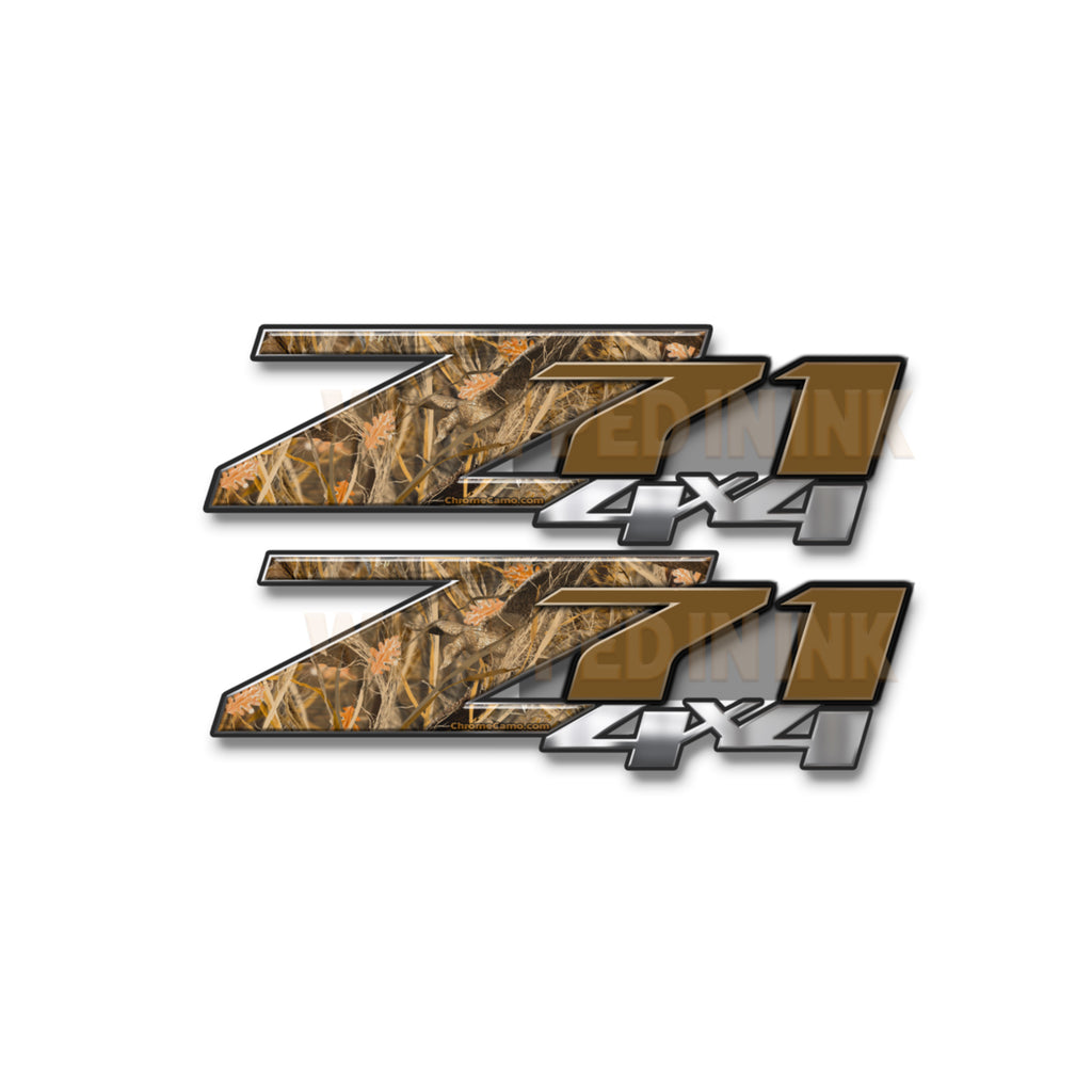 Z71 4x4 Decals Tallgrass Duck Camo
