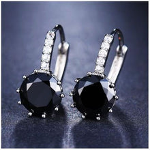 Load image into Gallery viewer, Classic Fashion Studs - Black - Classic Fashion Jewelry Stones Studs Loan Usa