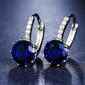 Classic Fashion Studs - Blue - Classic Fashion Jewelry Stones Studs Loan Usa