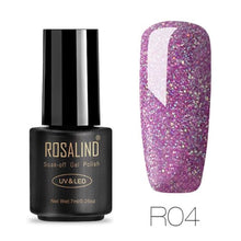 Rosalind Gel Nails Rainbow Gel - R04 - Christmas Gifts Holiday Look Your Best Nail Polish Loan Usa
