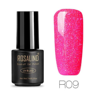 Rosalind Gel Nails Rainbow Gel - R09 - Christmas Gifts Holiday Look Your Best Nail Polish Loan Usa