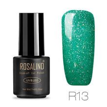 Rosalind Gel Nails Rainbow Gel - R13 - Christmas Gifts Holiday Look Your Best Nail Polish Loan Usa
