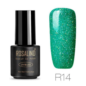 Rosalind Gel Nails Rainbow Gel - R14 - Christmas Gifts Holiday Look Your Best Nail Polish Loan Usa
