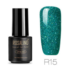 Rosalind Gel Nails Rainbow Gel - R15 - Christmas Gifts Holiday Look Your Best Nail Polish Loan Usa
