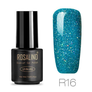 Rosalind Gel Nails Rainbow Gel - R16 - Christmas Gifts Holiday Look Your Best Nail Polish Loan Usa