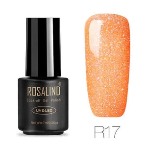 Rosalind Gel Nails Rainbow Gel - R17 - Christmas Gifts Holiday Look Your Best Nail Polish Loan Usa