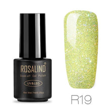Rosalind Gel Nails Rainbow Gel - R19 - Christmas Gifts Holiday Look Your Best Nail Polish Loan Usa
