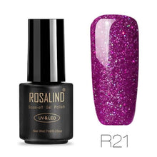 Rosalind Gel Nails Rainbow Gel - R21 - Christmas Gifts Holiday Look Your Best Nail Polish Loan Usa