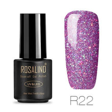 Rosalind Gel Nails Rainbow Gel - R22 - Christmas Gifts Holiday Look Your Best Nail Polish Loan Usa