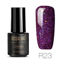 Rosalind Gel Nails Rainbow Gel - R23 - Christmas Gifts Holiday Look Your Best Nail Polish Loan Usa