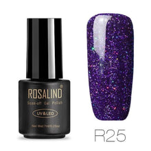 Rosalind Gel Nails Rainbow Gel - R25 - Christmas Gifts Holiday Look Your Best Nail Polish Loan Usa