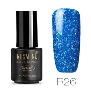 Rosalind Gel Nails Rainbow Gel - R26 - Christmas Gifts Holiday Look Your Best Nail Polish Loan Usa
