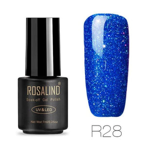 Rosalind Gel Nails Rainbow Gel - R28 - Christmas Gifts Holiday Look Your Best Nail Polish Loan Usa