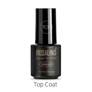 Rosalind Gel Nails Rainbow Gel - Top Coat - Christmas Gifts Holiday Look Your Best Nail Polish Loan Usa