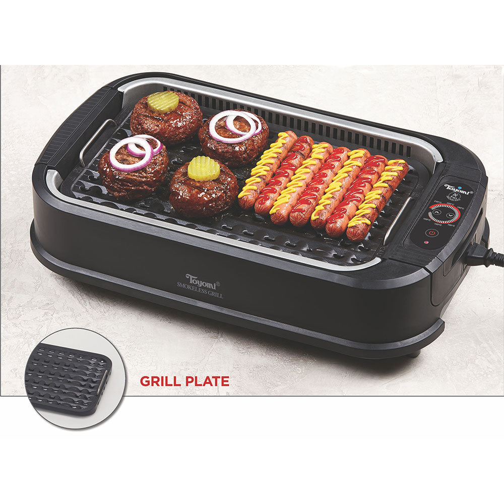 TOYOMI Electric Smokeless BBQ Model: BBQ 2002
