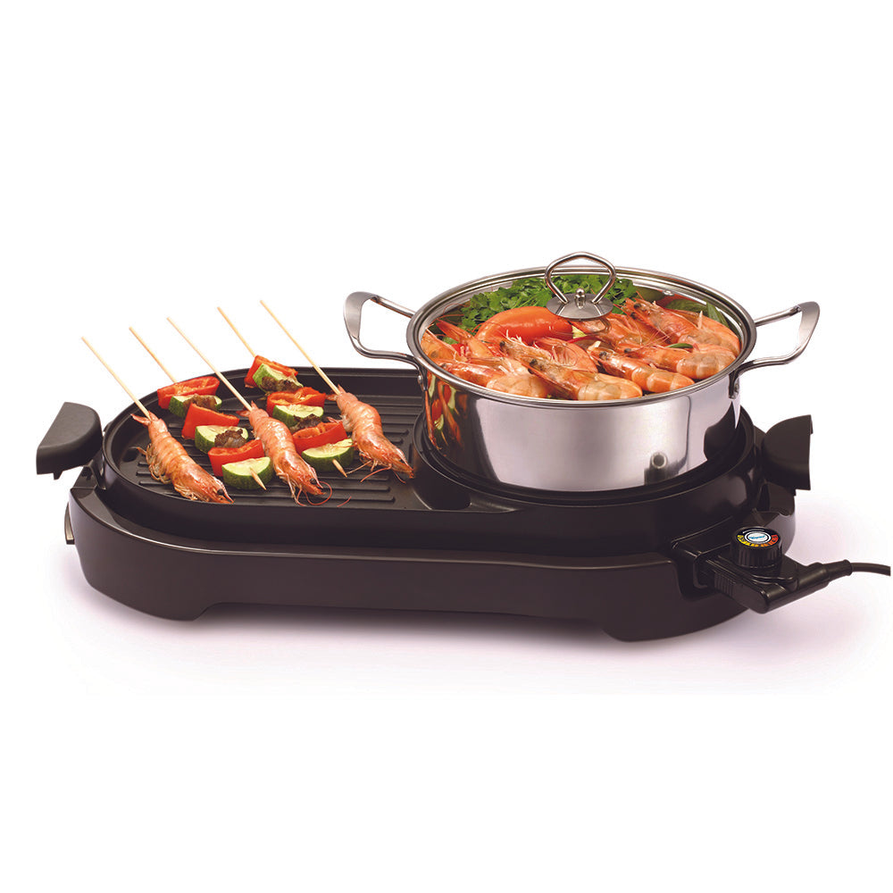 TOYOMI Electric BBQ Grill & Steamboat BBQ 5930