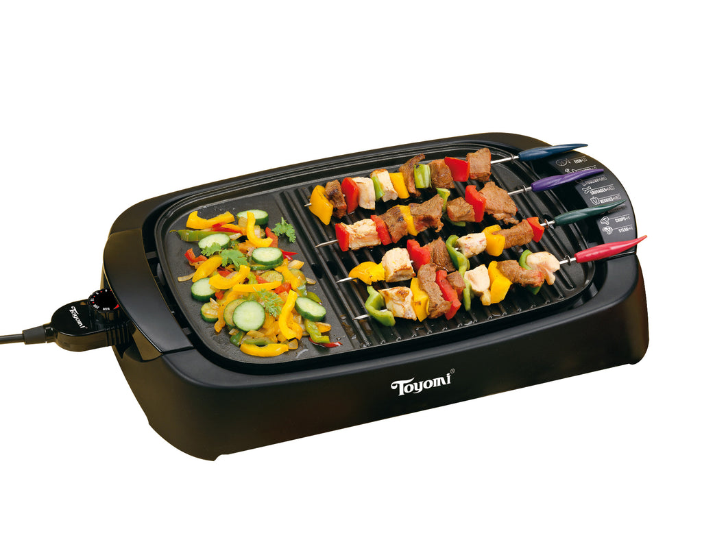 TOYOMI Electric Cooking Plate BBQ 2742G