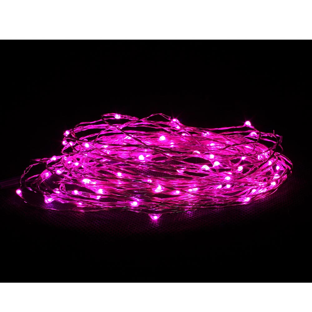 NET LED COPPER WIRE STRING 100 LIGHTS 10 METER