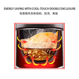 TOYOMI 4.0L Micro-com High Heat Stew Cooker HH 9080
