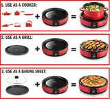 TOYOMI Digital Infrared Cooker with Grill IC 9232