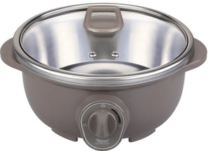 TOYOMI 4.5L Hotpot with Steamer MC 2929SS