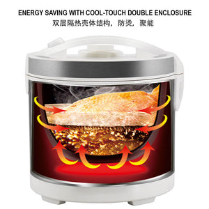 TOYOMI 4.0L Multi-Function Cooker with High Heat Ceramic Pot RC 4081CP