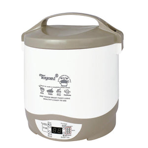 TOYOMI 0.6L Mini Rice Cooker with Stainless Steel Pot RC 616